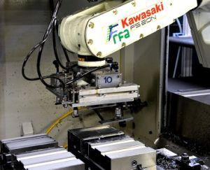 Produktion mit Roboter